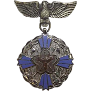 Imperial Japanese Fire Service Medal Kanagawa Prefecture
