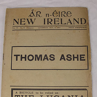 Ar n-Eire New Ireland Oct. 6, 1917 Irish Republican Newspaper