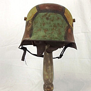 WW1 German M1916 Camouflage Helmet