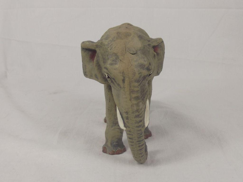 vintage composite large indian elephant figurine from theantiquesstorehouse on ruby lane. Black Bedroom Furniture Sets. Home Design Ideas