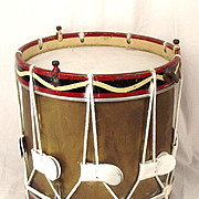 Post 1953 Coldstream Guards Practice Side Drum
