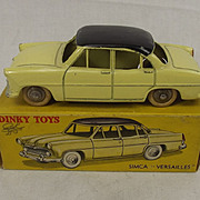 Boxed French Dinky 24Z Simca Versailles
