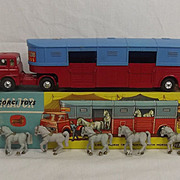 Boxed Corgi Toys 1130 Chipperfields Circus Horse Transporter