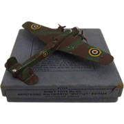 Dinky 62t Pre-War Armstrong Whitworth Bomber