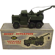 Boxed Dinky Supertoys 661 Recovery Tractor 1957/65