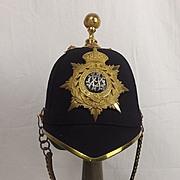 Edwardian Royal Army Veterinary Department Officers Blue Cloth Spilkehelmet