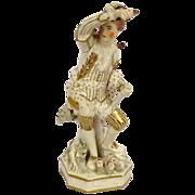 Circa 1830 Royal Crown Derby Allegorical Ancient Fire Elemental Figurine