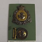 Pre-1860 Royal Lancashire Light Infantry Officers Shako Plate & Buckle