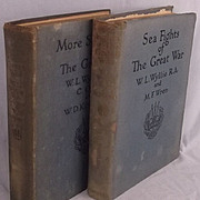 Sea Fights & More Sea Fights Of The Great War By William Wyllie Lionel