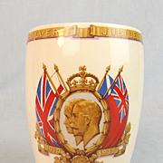 Gosport 1935 King George V Silver Jubilee Porcelain Beaker