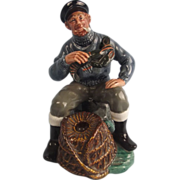 Royal Doulton Porcelain Fisherman Figurine Lobster Man HN2317