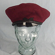 WW2 1945 British Airborne Forces Red Beret