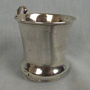 Silver Christening Mug, Birmingham 1928
