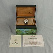 Rolex Air King Wristwatch & Original Box/Presentation Case