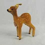 Steiff Plush Toy Of Deer Fawn, Bambi  Circa 1950's