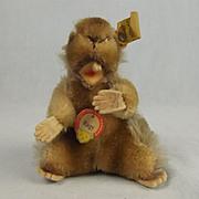 Vintage Steiff Beaver Plush Toy 'Nagy' 1950's