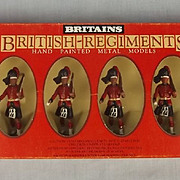 1982 Britains Toy Soldiers 7235 Black Watch Highlanders