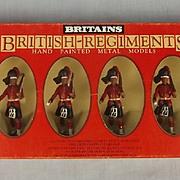 1982 Britains Toy Soldiers 7235 Black Watch Highlanders