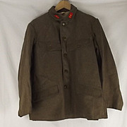 WW2 Japanese Private First Class Winter Tunic & Belt