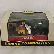 Early Box Britains 9699 BMW Racing Motorcycle Combination