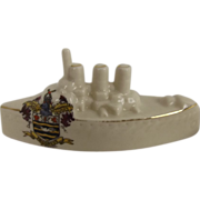 WW1 Carlton Crested China Destroyer – Blackpool
