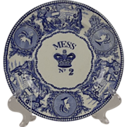 Early Victorian No.2 Royal Navy Mess Plate