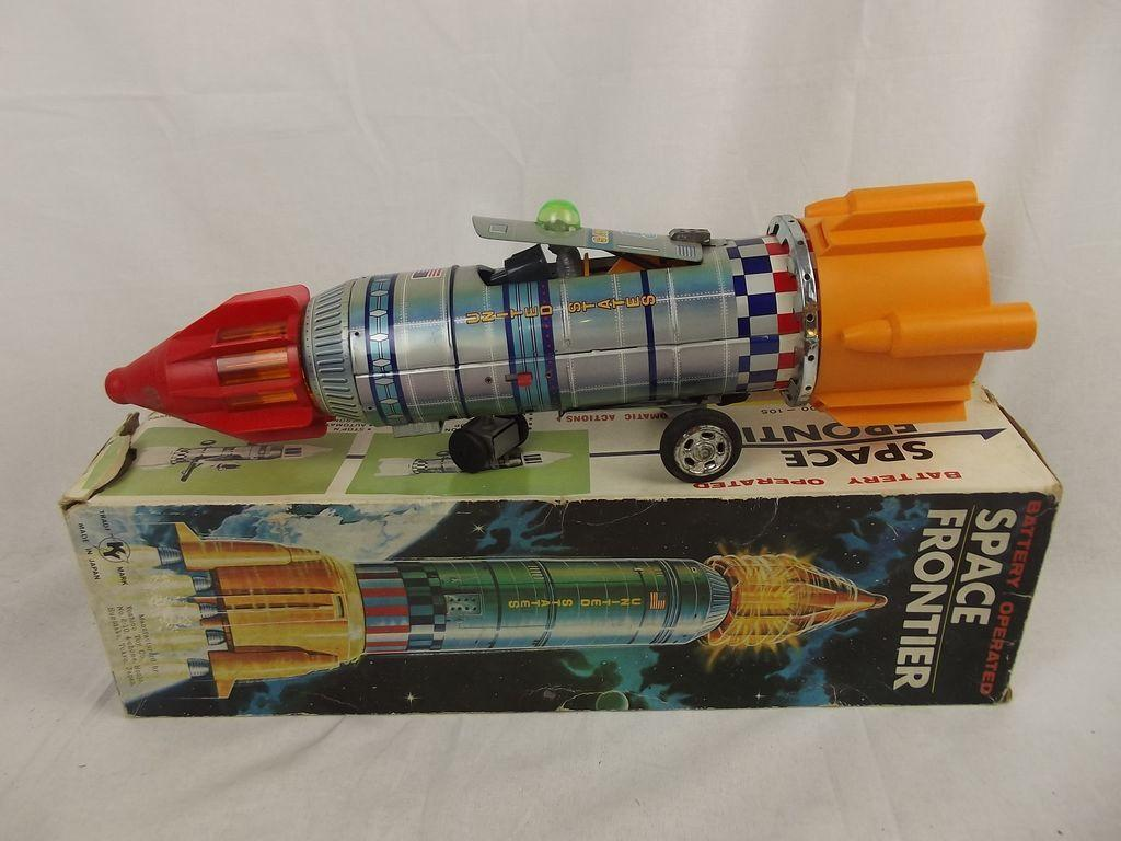 1960's Yoshino Toys KY Japan Battery Operated Space ...