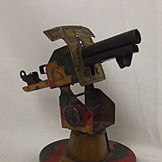 1930's Mettoy Tinplate Anti-Aircraft Gun
