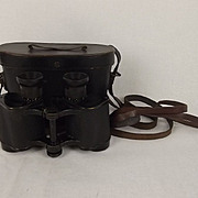 Cased Karl Zeiss Jena WW1 German Navy Binoculars