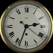 Brass 8 Day Ships Bulkhead Clock By F W Elliott