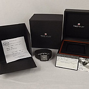 Boxed Tag Heur Professional Golf Sports Watch Model No. WAE 113