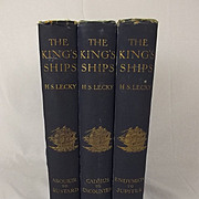 The Kings Ships By H. S. Lecky 1913 -Three Volumes