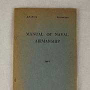 Manual of Naval Airmanship 1949