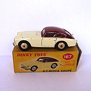 Boxed Dinky Toys No. 167 A.C. Aceca Coupe 1958-1963