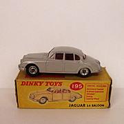 Boxed Dinky Toys No.195 Jaguar 3.4 Saloon 1969-1971