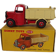 Boxed Dinky Toys No.410 Bedford End Tipper 1954-1963