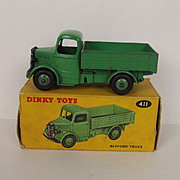 Boxed Dinky Toys 411 Bedford Green Truck 1954-1960