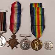 WW1 Military Medal & 1914/15 Star Trio Pte. F. Valder 4th London RAMC