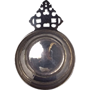 Britannia Engraved Silver Bleeding Bowl/Porringer, c1926 by A&F Parsons Tessiers