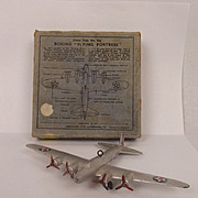 Boxed Dinky No. 62g Boeing Flying Fortress 1939-1941