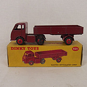 Boxed Dinky Toys No. 421 Electric Articulated Lorry 'British Railways' 1955-1959