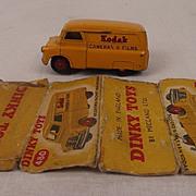 Dinky Toys No. 480 Bedford 10 CWT. Van 'Kodak' 1954-1956