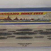 Boxed Dinky Pre-war Set No. 50 Ships of the British Navy #2