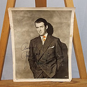 "Signed Autograph Universal James ""Jimmy"" Stewart Studio Shot 1953 Photograph"