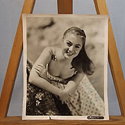 Signed Autograph Shirley Jones Studio Shot Circa 1950's