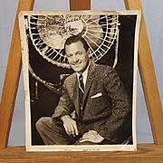 Signed Paramount William Holden Studio Shot 1956 Photograph By Bud Fraker