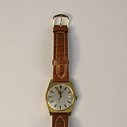 Gents Omega Automatic Genève Gold Plated Watch c1972