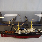 Scratch Built Radio Control Model Of Deep Sea Tug Boat Zwarte Zee