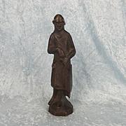 Late 19th Bronze Of A Circa 1370 English Knight Statue