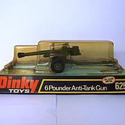 Boxed Dinky Toys #625 - 6 Pounder Anti-Tank Gun #5